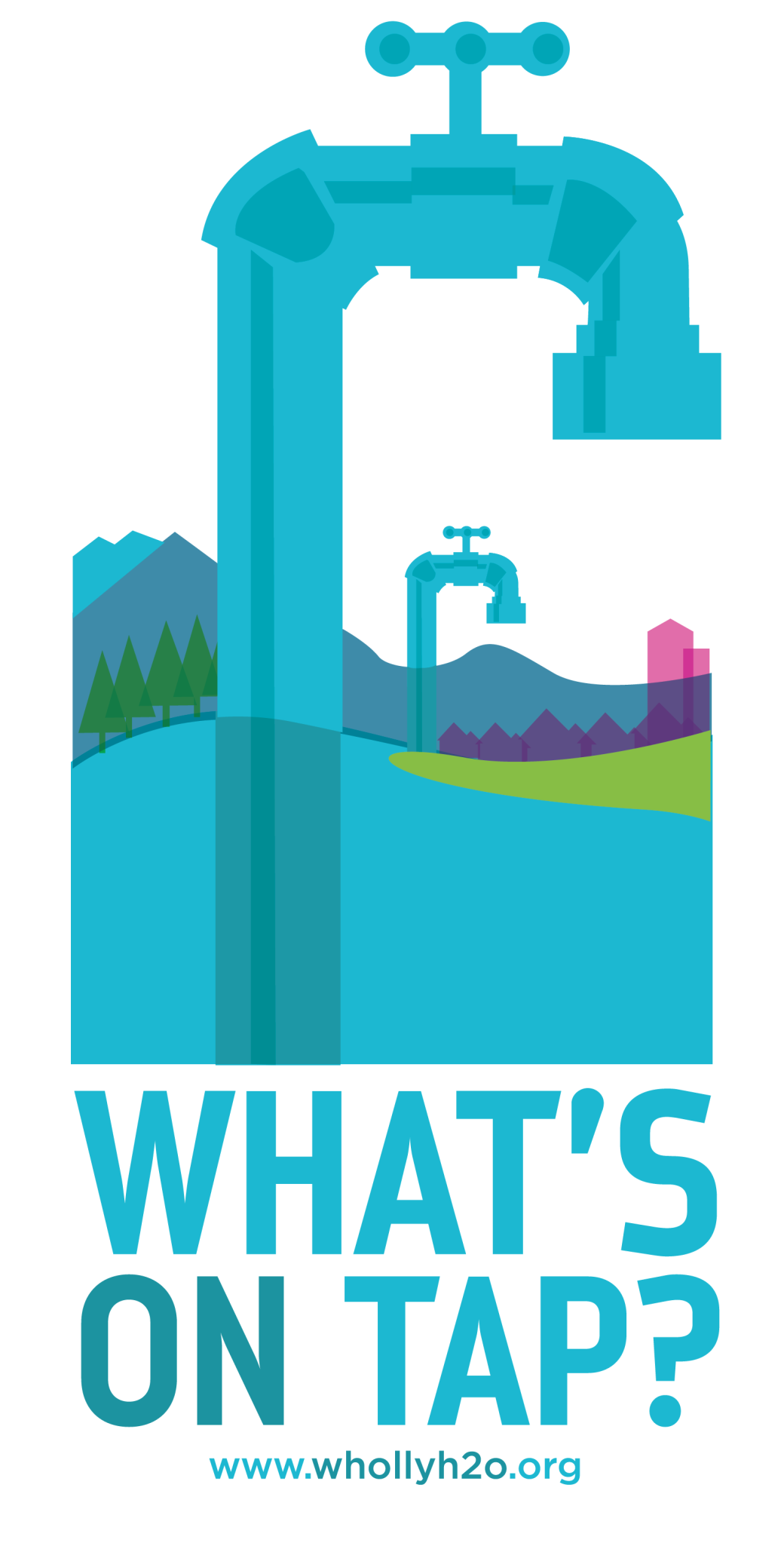 Logo design for the What's on Tap campaign