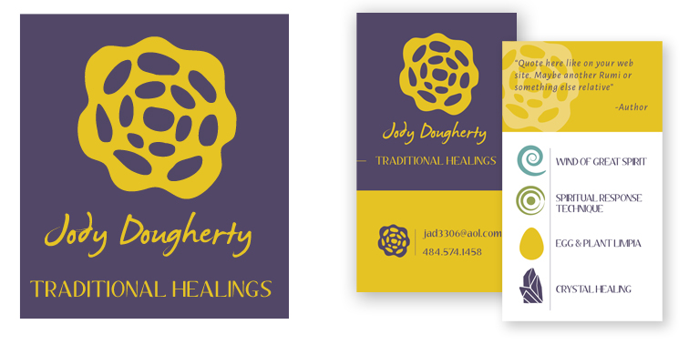 Logo and business card designs for JDTH